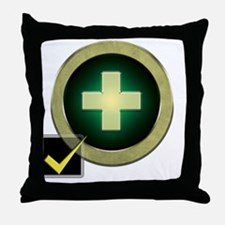 Healer2 Throw Pillow