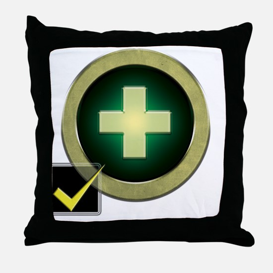 Healer2 Throw Pillow
