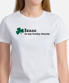 Isaac is my lucky charm Women's T-Shirt