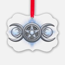 Triple Goddess - Moonstone - tran Ornament