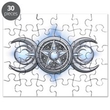 Triple Goddess - Moonstone - transparent Puzzle