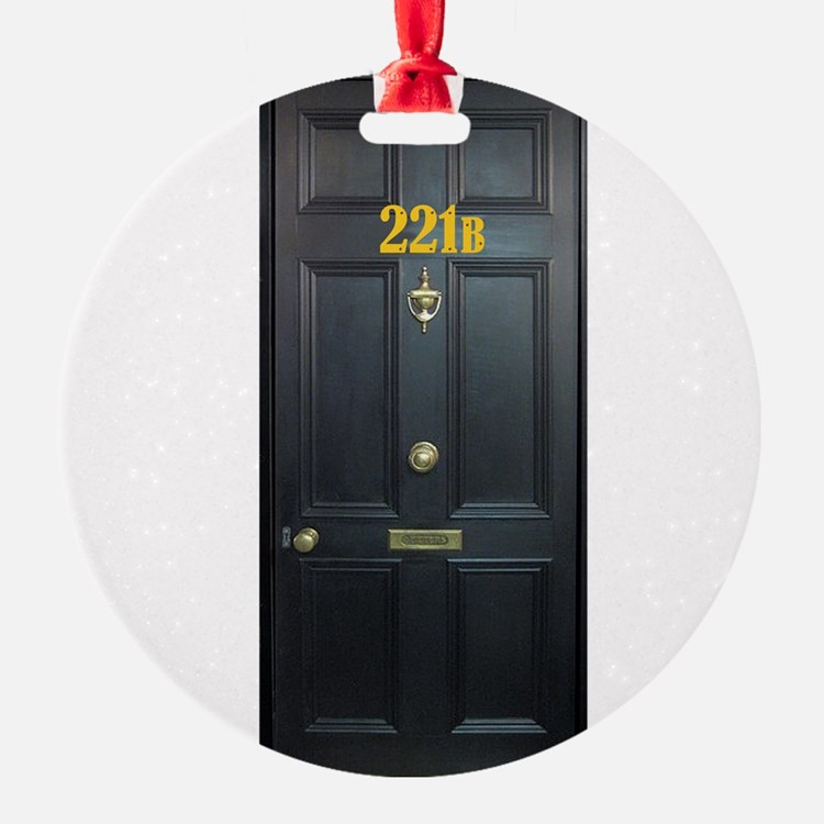 221B Door Ornament