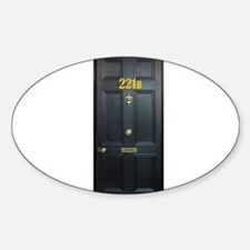 221B Door Decal