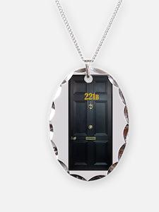 221B Door Necklace
