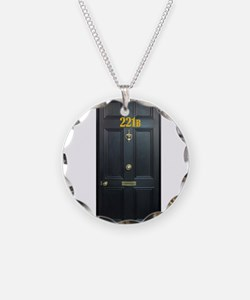 221B Door Necklace