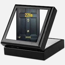 221B Door Keepsake Box