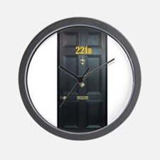 221B Door Wall Clock