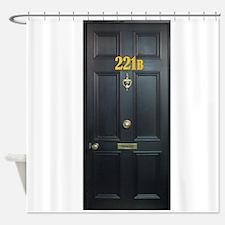 221B Door Shower Curtain