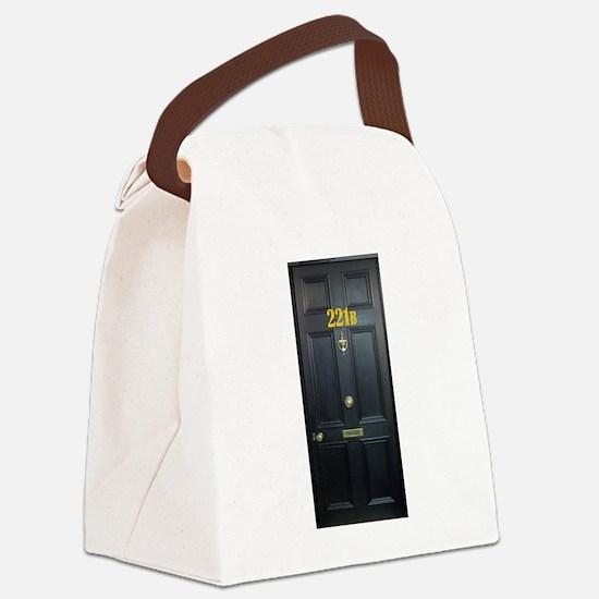 221B Door Canvas Lunch Bag