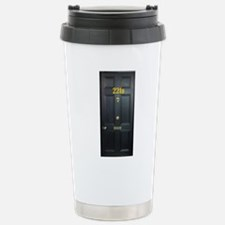 221B Door Travel Mug