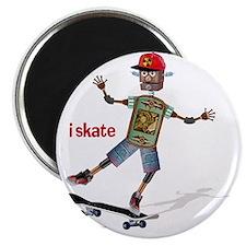 robot skateboard  Magnet