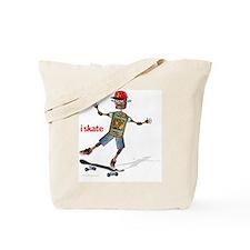 robot skateboard  Tote Bag