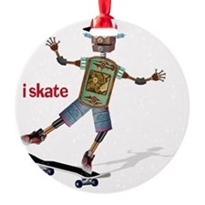 robot skateboard  Ornament