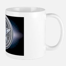 Pentacle - silver with moonstone - bann Mug