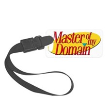 Master Of My Domain Luggage Tag