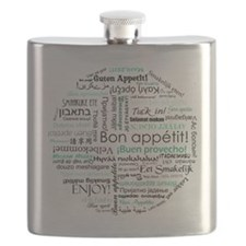Bon appetit around the world - Turquoise / T Flask