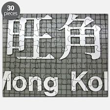 Hong Kong Subway Mong Kok 1750 Puzzle