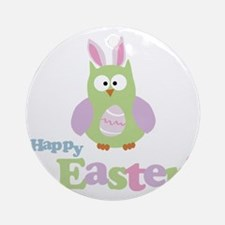 easterowl Round Ornament