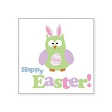 "easterowl Square Sticker 3"" x 3"""
