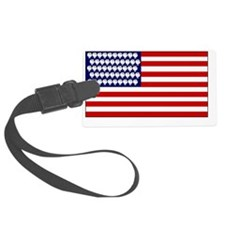 Challenge Accepted USA Luggage Tag