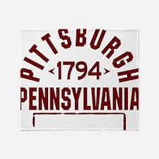 Pittsburgh INC W Throw Blanket