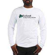 Leland is my lucky charm Long Sleeve T-Shirt