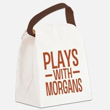 playsmorganhorses Canvas Lunch Bag