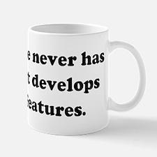 My software never has bugs. I Mug