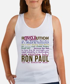 ron paul tike Women's Tank Top