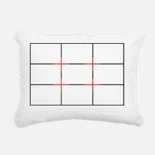 Rule of Thirds Rectangular Canvas Pillow