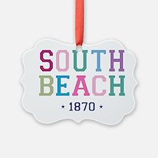 South Beach 1870 B Ornament