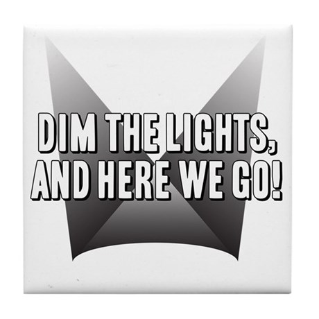 DimTheLights Tile Coaster