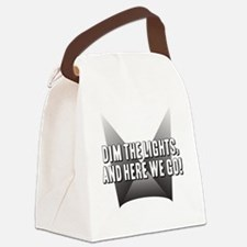DimTheLights Canvas Lunch Bag