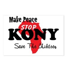 KONY Peace 1 Postcards (Package of 8)