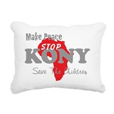 KONY Peace 2 Rectangular Canvas Pillow