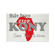 KONY Peace 2 Rectangle Magnet