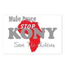 KONY Peace 2 Postcards (Package of 8)
