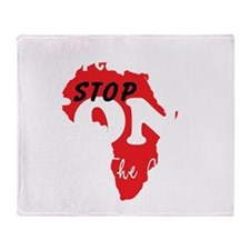 KONY Peace 3 Throw Blanket