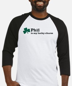 Phil is my lucky charm Baseball Jersey