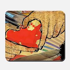 Heart of an Artist Mousepad