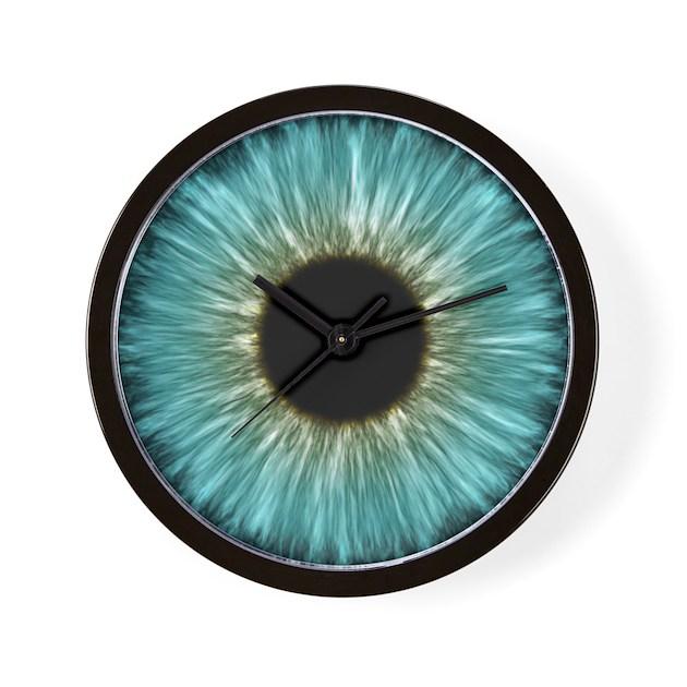 Weird Eye Wall Clock By Iriseyedesign