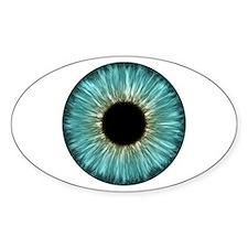 Weird Eye Oval Decal
