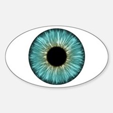 Weird Eye Oval Decal