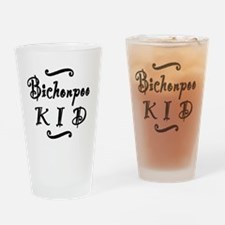 bichonpookid Drinking Glass