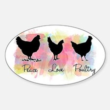 peacelovepoultry Decal
