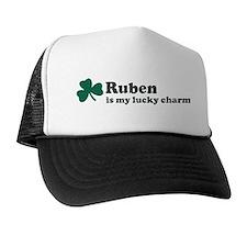 Ruben is my lucky charm Trucker Hat
