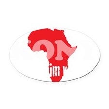 Kony Visible 2 Oval Car Magnet