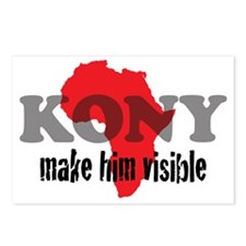 Kony Visible 1 Postcards (Package of 8)