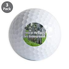 Roots Underground Golf Ball