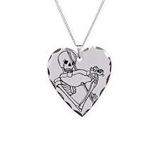 Skeleton Violin Player Shot G Necklace